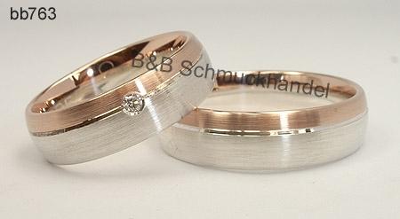 Eheringe rotgold silber  Trauringe & Eheringe Online Shop - Hochzeitsringe, Silber + ...