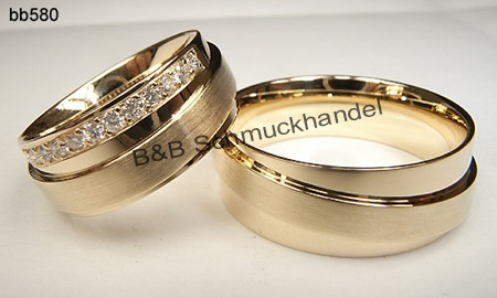 Besondere eheringe gold  Trauringe & Eheringe Online Shop - Trauringe bb580, 7.5mm Breite
